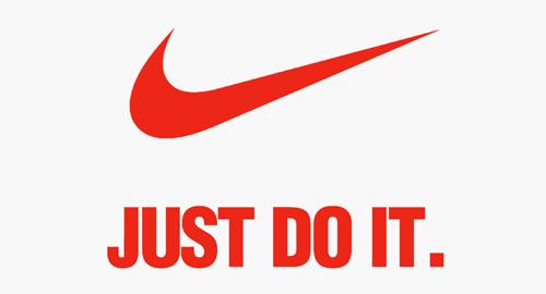 شعار تبلیغاتی نایک