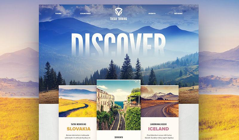 طراحی سایت با تایپوگرافی