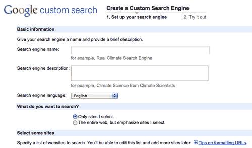 طراحی سایت با نوار جستجوی گوگل