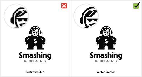 اتحادیه چاپ و تابلوسازان تبلیغاتی و..آملاستفاده از عکس یا تصاویر بی کیفیت در طراحی لوگو