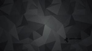 بک گراند تیره با طرح مثلثی کوچک