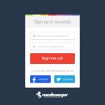 اصول طراحی فرم ثبت نام سایت
