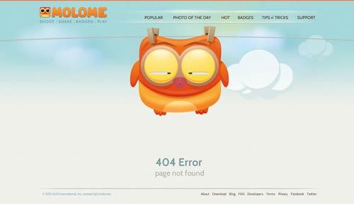 ارور 404 نباید باعث ناراحتی بازدید کننده شه