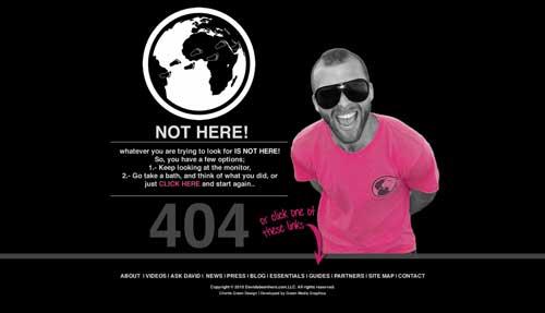 راهنمایی کاربران در روبرو شدن با خطای 404