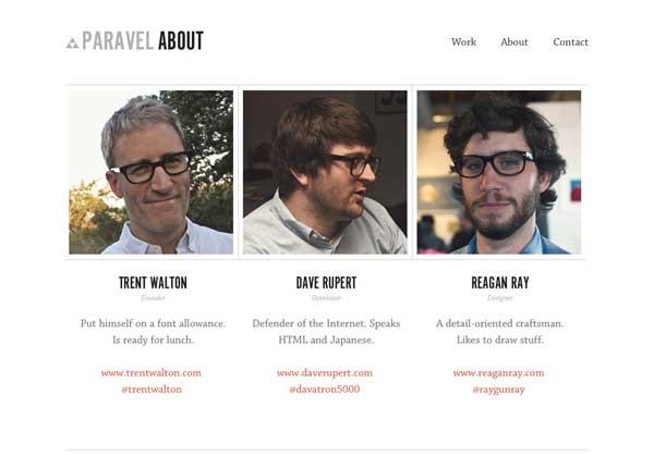 صفحه درباره ما واسه شرکتهای کوچیک