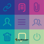 استفاده از طراحی تخت در لوگو