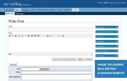 تاریخچه نسخه های وردپرس 2