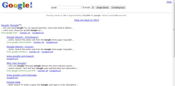 تولد گوگل