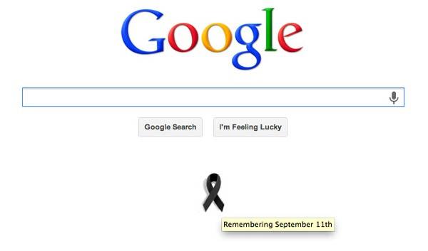 11 سپتامبر گوگل