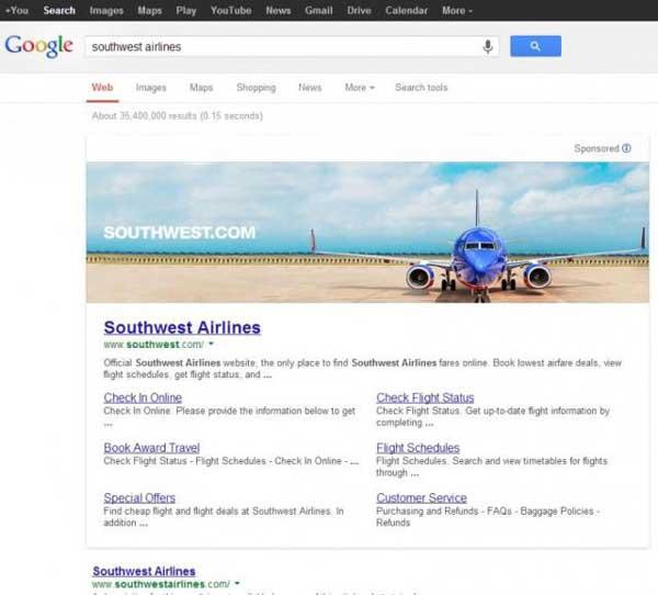بنر تبلیغاتی در گوگل