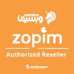 همکاری مشترک websima و zopim