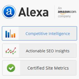 ثبت رایگان سایت در الکسا