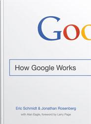 انتشار کتاب how google works