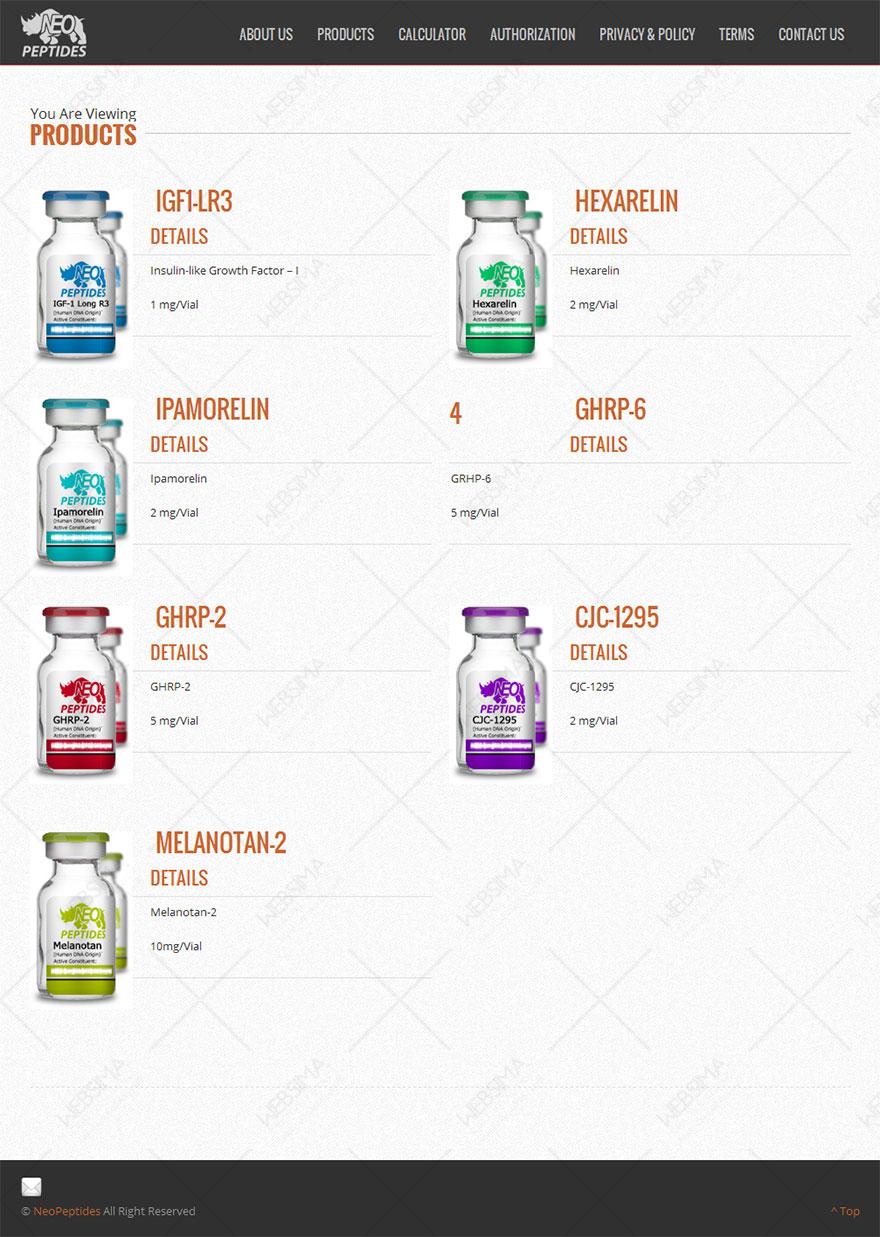 طراحی سایت شرکت دارویی