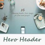 Hero Header در طراحی سایت