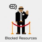 Blocked Resources در وبمستر گوگل