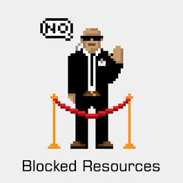 آموزش Blocked resources در وبمستر گوگل