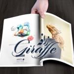 ماهنامه تخصصی خلاقیت تجاری زرافه