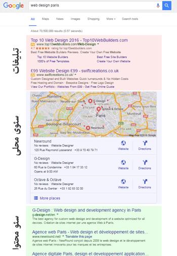 استراتژی تبلیغات و سئو در گوگل