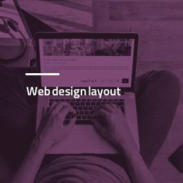 طراحی صفحه بندی برای سایت