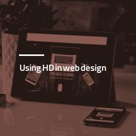 بکارگیری HD در طراحی سایت