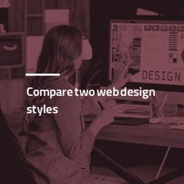 مقایسه دو سبک طراحی سایت