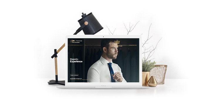 امکانات وبسیما برای طراحی سایت شرکتی
