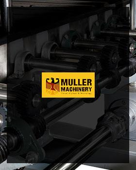 طراحی سایت ماشین سازی مولر