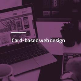 طراحی سایت مبتنی بر کارت