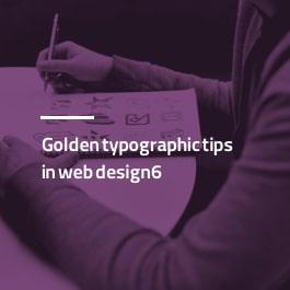 6 نکته طلایی تایپوگرافی در طراحی سایت