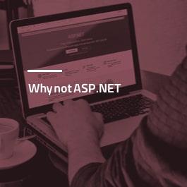 چرا ASP.Net نه؟