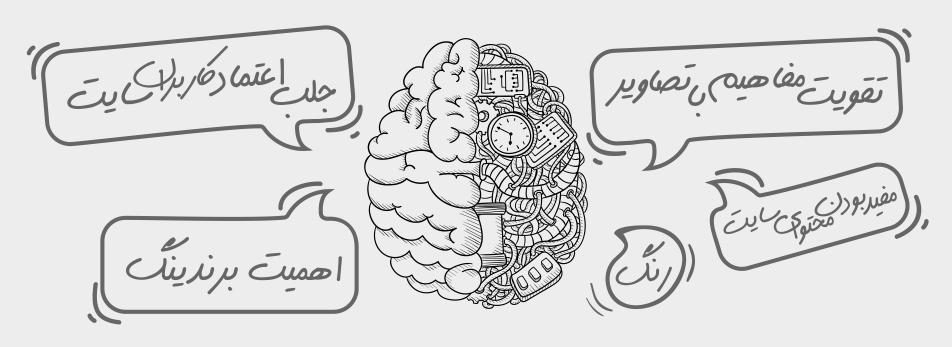 کاربرد روانشناسی در طراحی سایت واسه جلب اعتماد کاربران