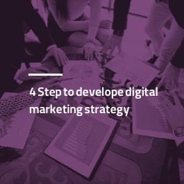 ۴ قدم برای تدوین استراتژی دیجیتال مارکتینگ
