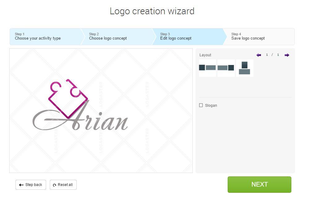 طراحی لوگو جذاب و ساده با لوگو ساز