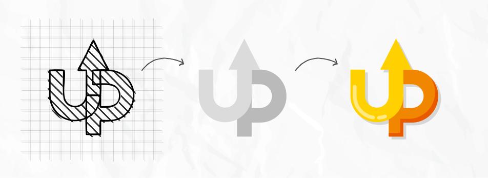 طراحی لوگو ساده با لوگو ساز