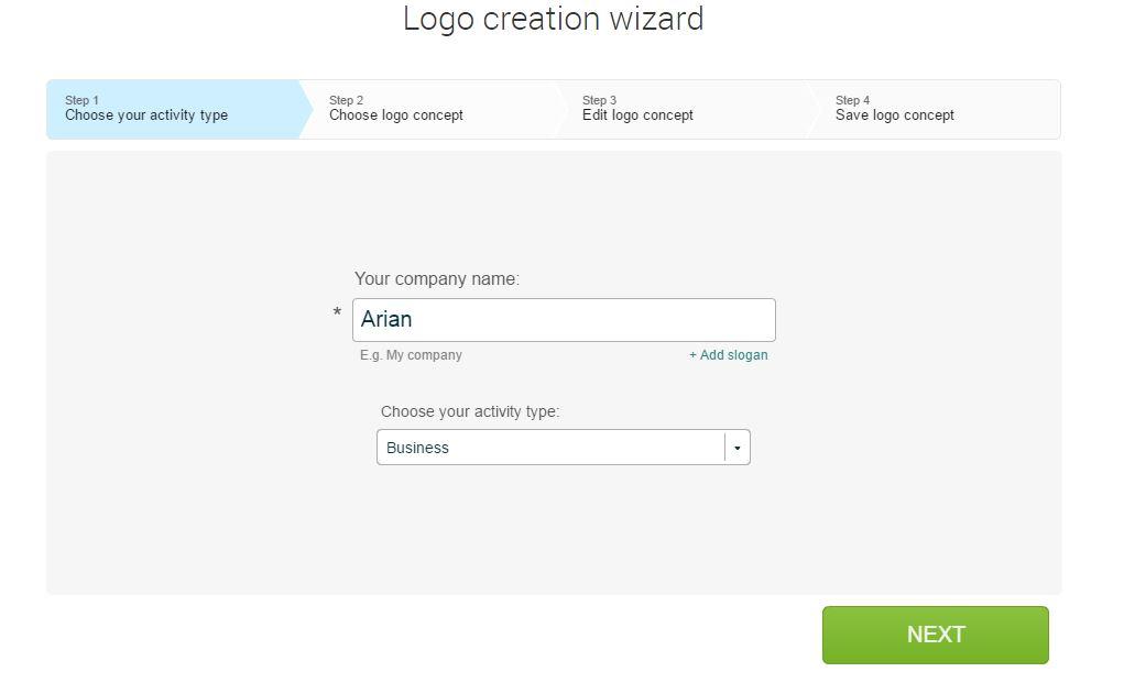 طراحی لوگو آنلاین با لوگستر