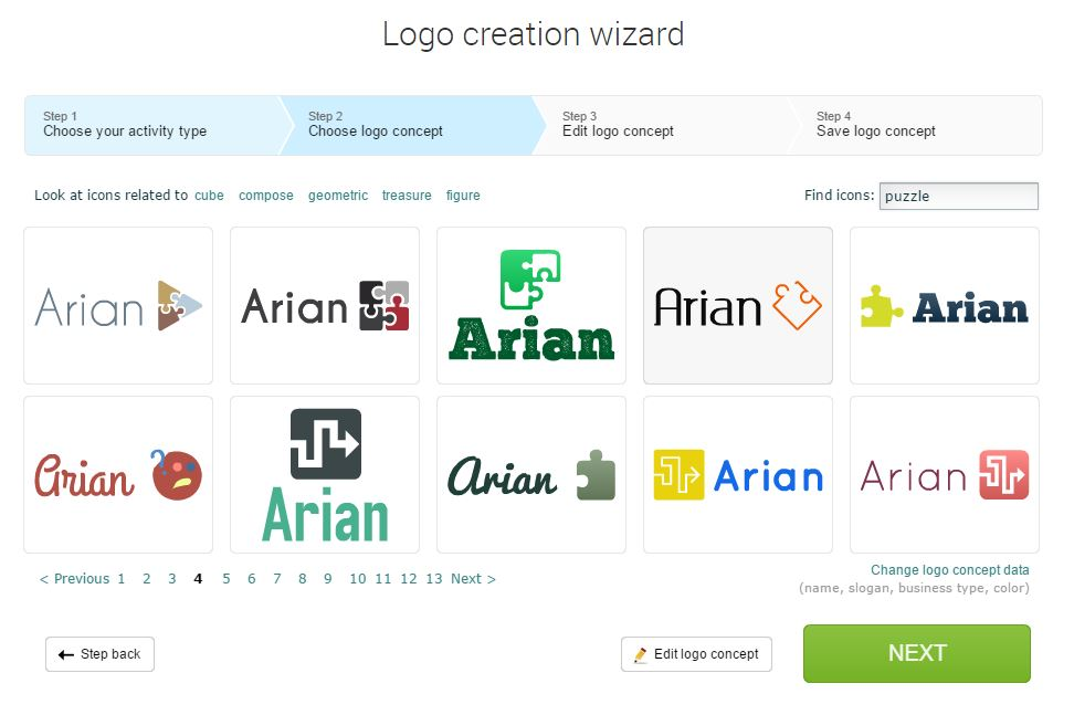 ساخت لوگو ساده برای استارتاپ ها به صورت آنلاین