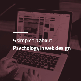 ه نکته ساده روانشناسی در طراحی سایت