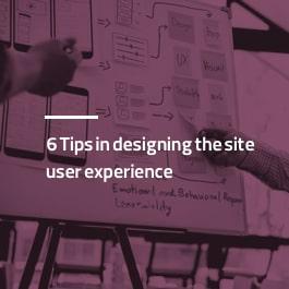 ۶ نکته مهم در طراحی تجربه کاربری سایت