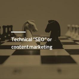 سئو تکنیکال و بازاریابی محتوایی