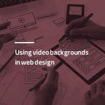 استفاده از ویدئو بک گراند در طراحی سایت