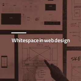 تکنیک فضای خالی در طراحی سایت