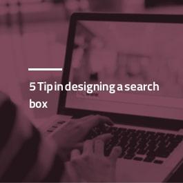 ۵ نکته در طراحی فرم جستجو