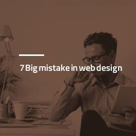 ۷ اشتباه مهلک در طراحی سایت