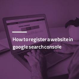 آموزش ثبت سایت در گوگل سرچ کنسول