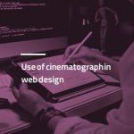 طراحی سایت با تکنیک سینماگراف