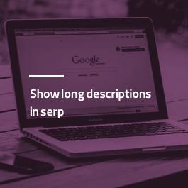 نمایش توضیحات طولانی در گوگل