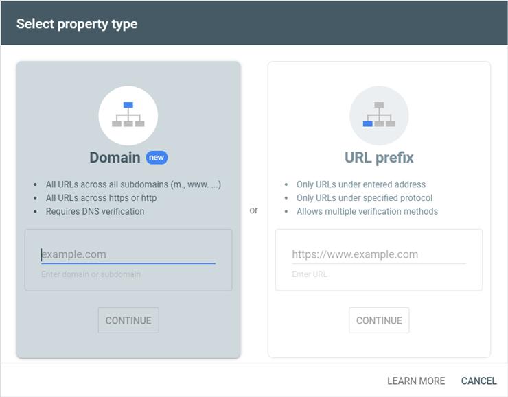 دو روش برای ثبت سایت در گوگل