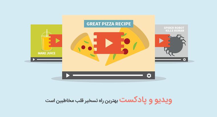 بازاریابی محتوا با ویدئو میتواند میزان ارتباط کاربر با محتوا و سایت شما را تا ۸۰ درصد افزایش دهد
