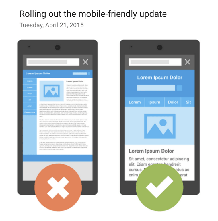 الگوریتم Mobilegeddon و تاثیر آن بر سئو موبایل